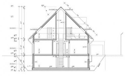Wohnhaus t langenfeld arieltecture gesellschaft von for Bauplan wohnhaus